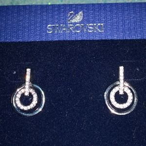 Earrings.Swarovski.